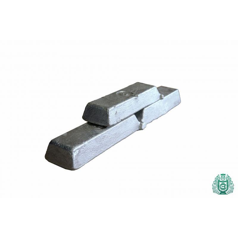Bare de aluminiu 100gr-5.0kg 99.9% Bare de aluminiu turnate