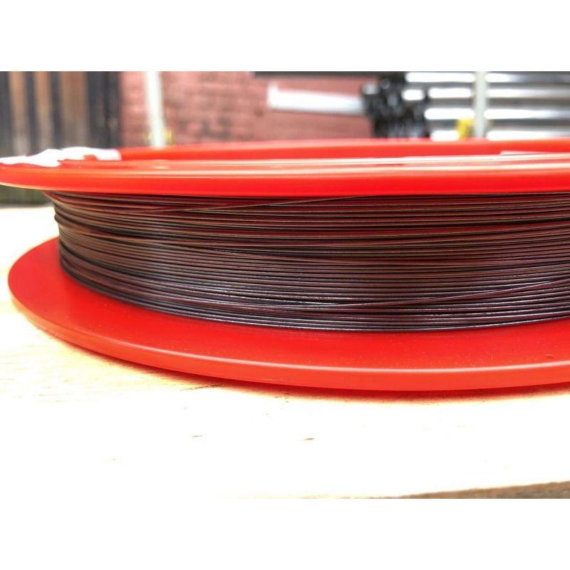 Sârmă de wolfram Ø0.1-1.5mm 99.95% metal pur inchis bec luminos 1-50metri, metale rare