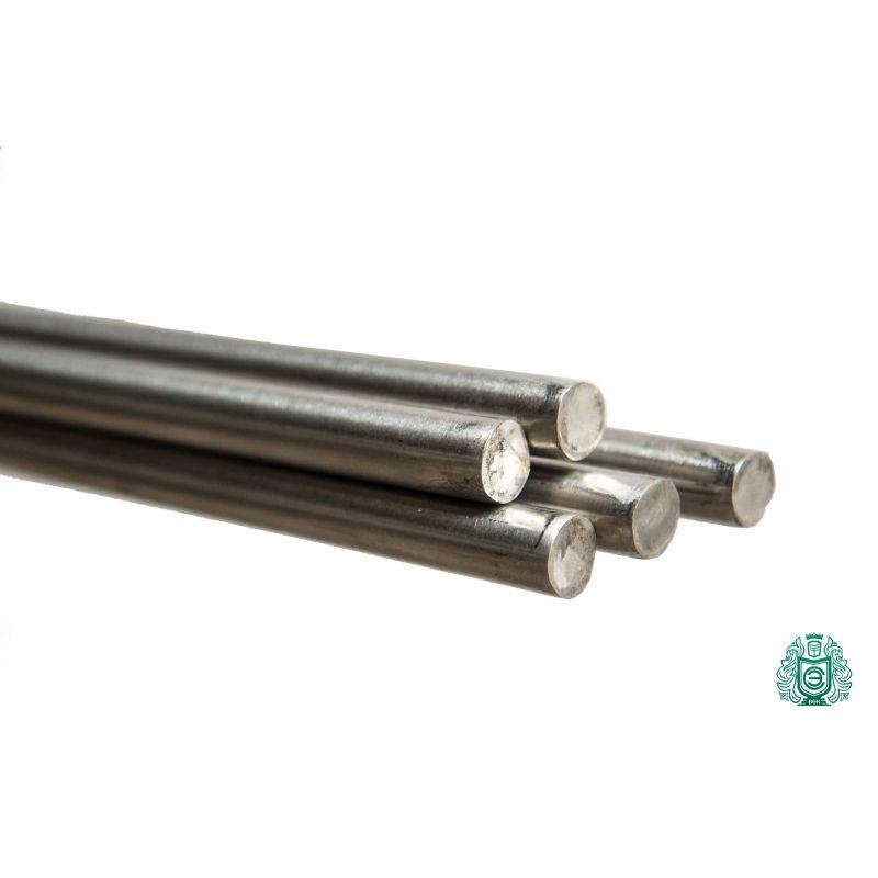 Tija din oțel inoxidabil 4mm-36mm 1.4571 V4A 316Ti profil tija rotundă Tija din oțel rotund 316 Ti, oțel inoxidabil