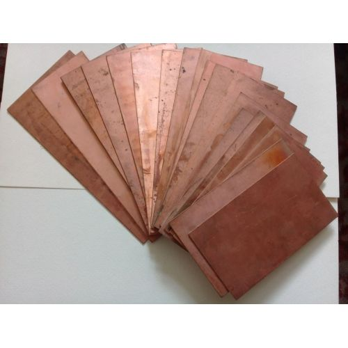 Copper 99.9% pure anode sheet metal plate 10x200x50-10x200x1000mm raw electroplating electrode, copper