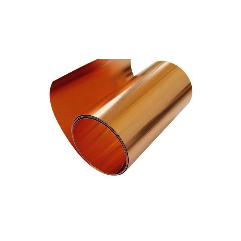 Banda de cupru 0.1x600mm cupru bandă adezivă 0.1 metru până la 100 metri, cupru