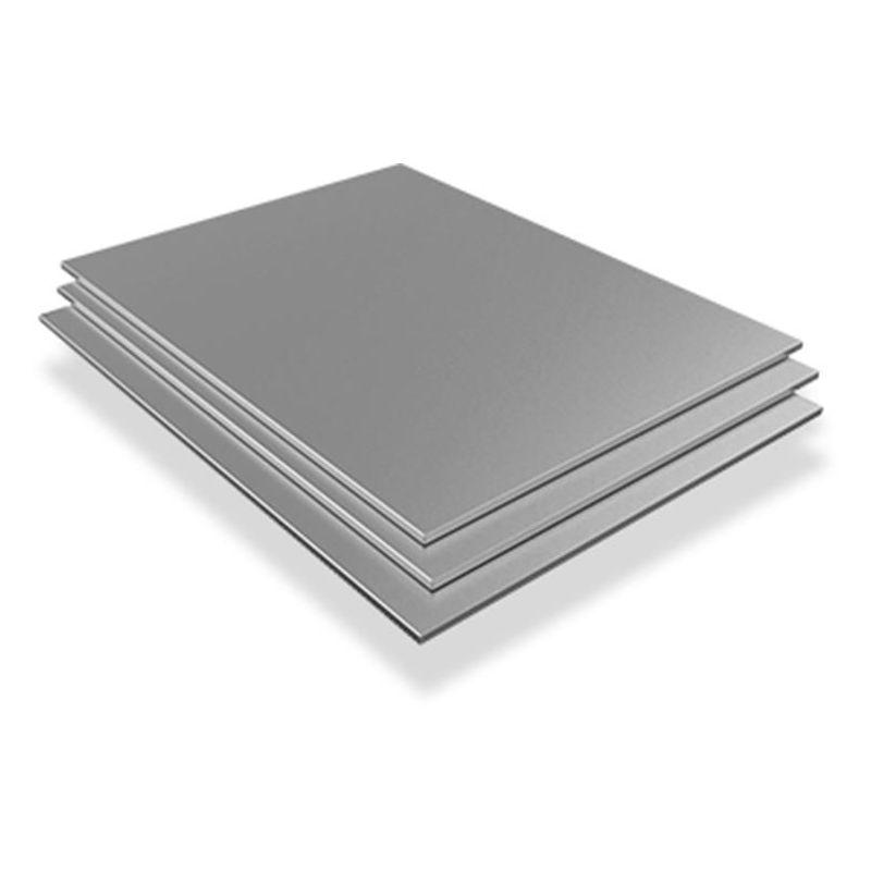 Foi din oțel inoxidabil 0.6mm V2A 1.4301 plăci tăiate tăiat la dimensiuni 100 mm până la 2000 mm, oțel inoxidabil