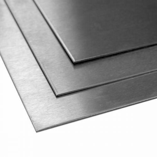Titaanilevy 1 mm 3,7035 Luokan 2 arkkilevyt leikattu kokoon 100 mm - 2000 mm, titaani