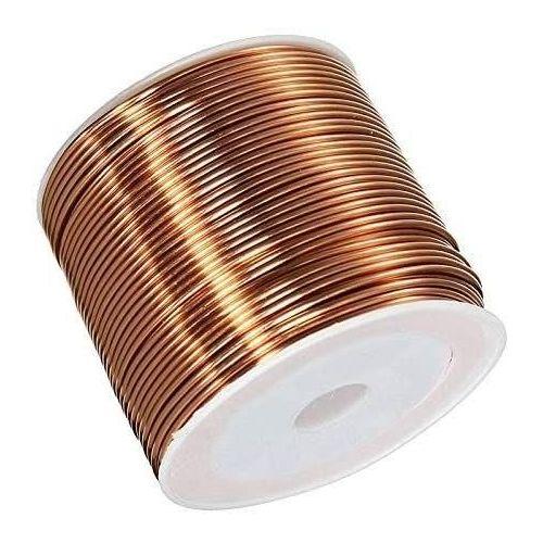 Kuparilanka Ø0.05-2.8mm emaloitu lanka Cu 99.9 wnr 2.0090 askartelulanka 2-750 metriä, kupari