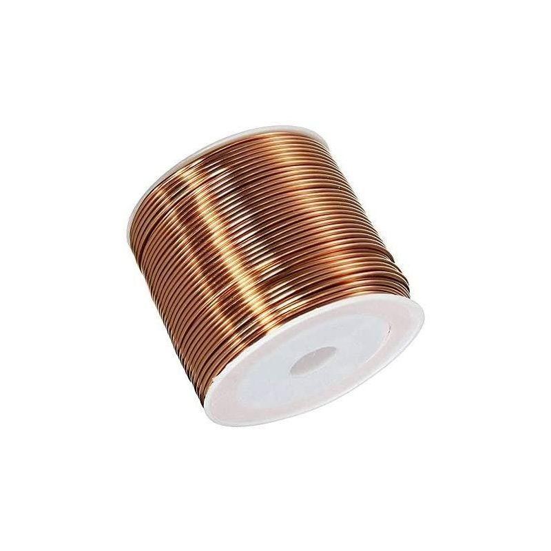 Kuparilanka Ø0,05-2,8 mm emaloitu lanka Cu 99,9 wnr 2,0090 käsityölanka 2-750 metriä, kupari
