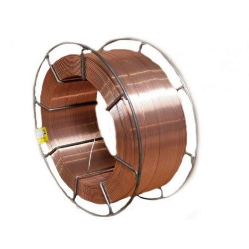 Sârmă de oțel de sudură 0,5-25kg gaz de protecție Ø 0,6-5mm