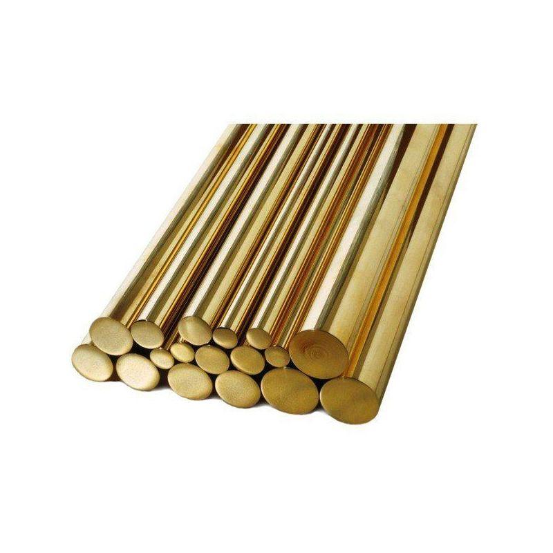 Rod Ø1.5-60mm brass 2.0401 Ms58 round rod rod round material, brass