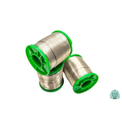 Staniu de lipit Sn99Cu1 dia 1.5mm cu lichid 2,5% fără plumb