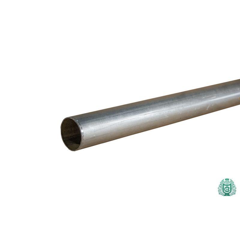 Țeavă din oțel galvanizat pentru construcția conductei balustrade filet metalic Ø 50x1.4mm
