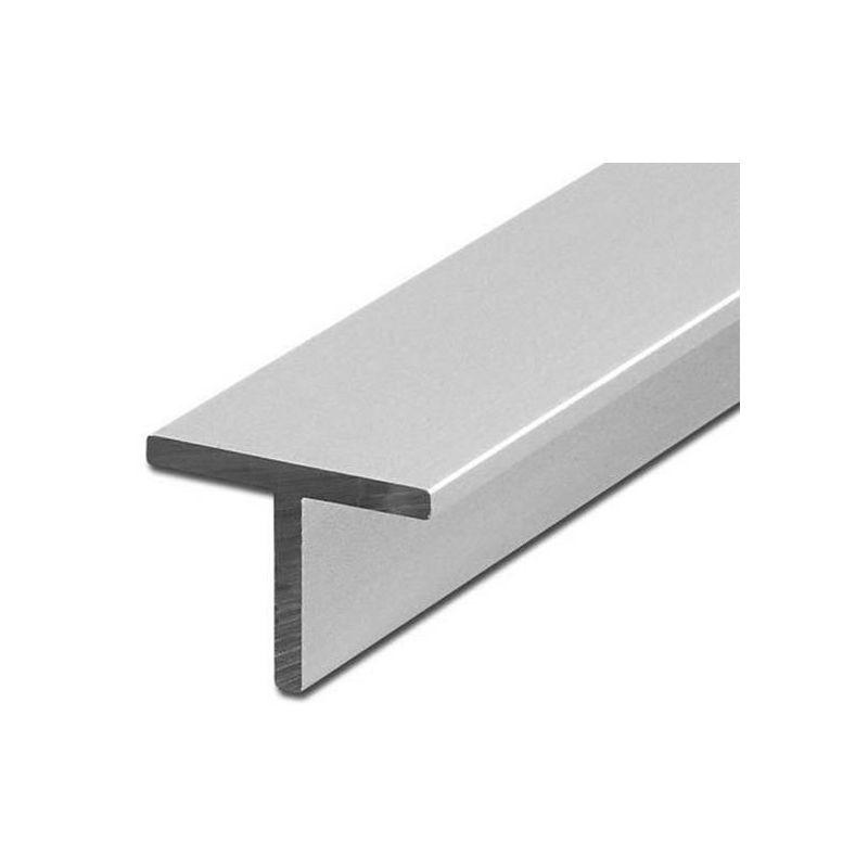 Profil din aluminiu T unghi isoscel 40x40x5mm alu 0,25-2 metri