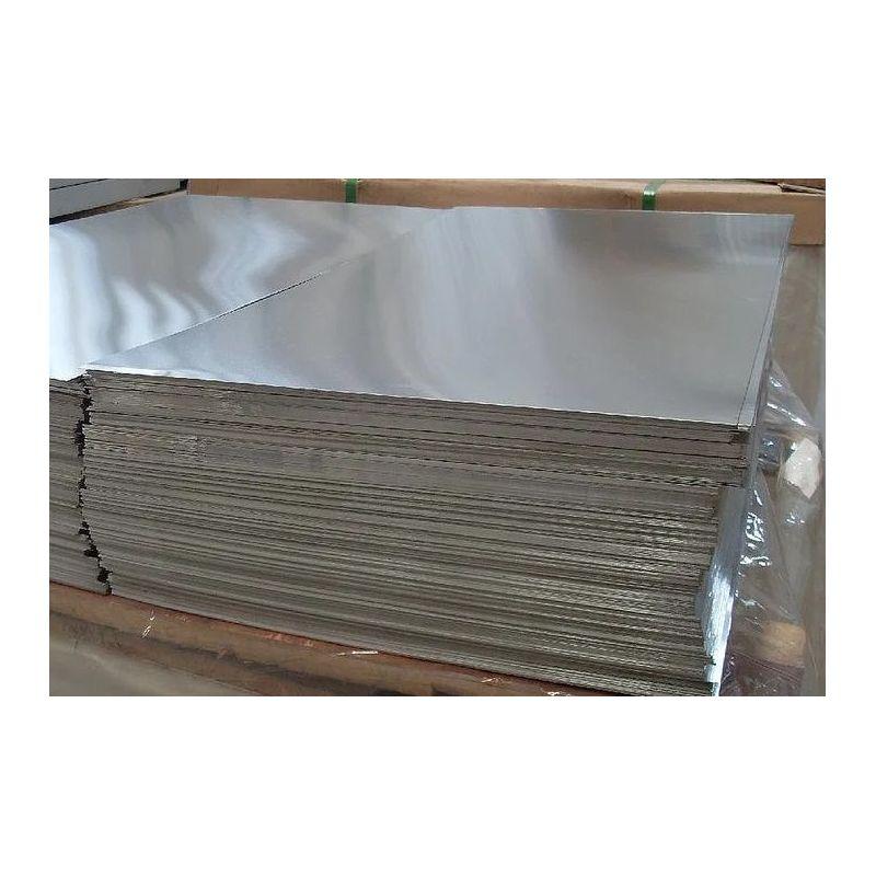 Plăci de aluminiu plăci de 2 mm Foi de Al foi subțiri selectabile de la 100 mm la 1000 mm