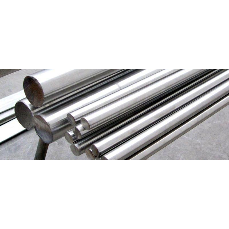 Hafniumin metallinen pyöreä sauva 99,9% Ø 2 mm: stä Ø 20 mm: iin Hafnium Hf -elementti 72, metallit harvinaiset