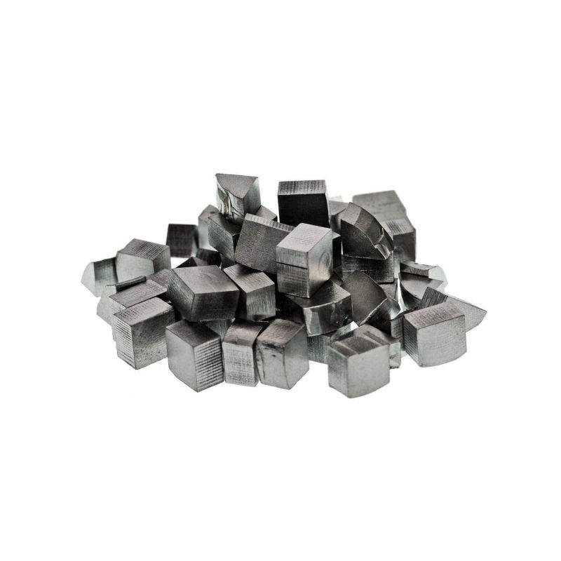 Puritate Hafnium 99.9% Element pur metalic 72 bare Blocuri