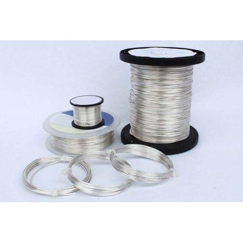 2-100 metri sârmă de cupru, sârmă de argint, sârmă artizanală, bijuterii, argintate Ø0.5-1.2mm, cupru