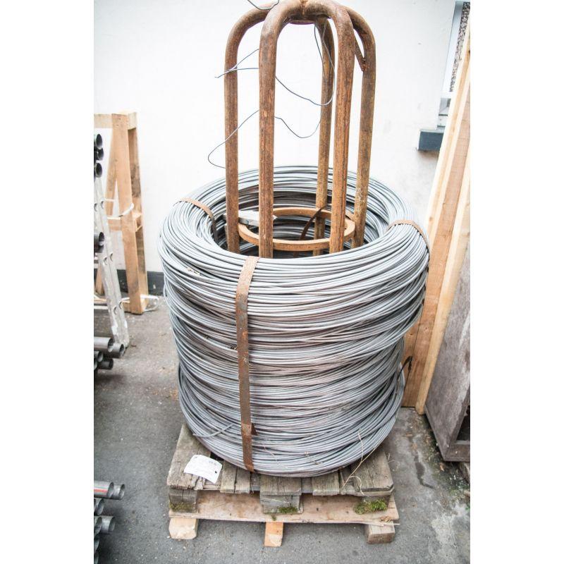 Sârmă de tensiune sârmă de legătură de 0,6-8 mm sârmă de fier galvanizat cu flori de ochiuri 10-500 metri, oțel