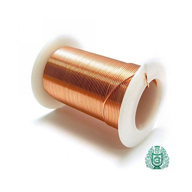 2-200 metriä kuparilangasta Manganin Ø 0.2mm 2.1362 CuMn12Ni emaloitu lanka, käsityölanka, kupari