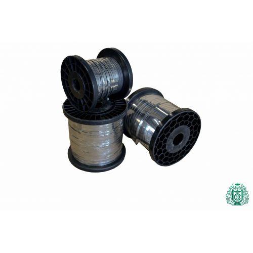 Ruostumattomasta teräksestä valmistettu metallilevy, litteä lanka 0,3x0,6 mm V2A 1.4301304 Nauhalanka, ruostumaton teräs